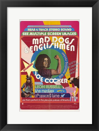 Framed Mad Dogs and Englishmen Print