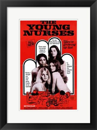 Framed Young Nurses Print