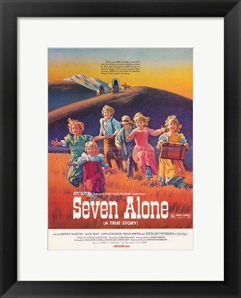 Framed Seven Alone Print