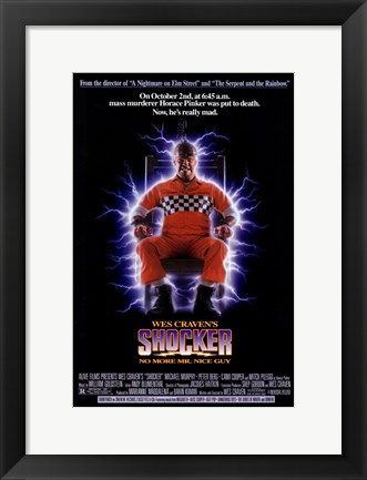 Framed Shocker Print