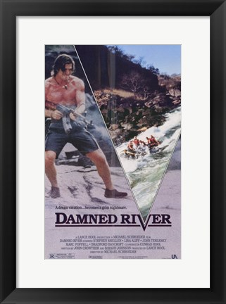 Framed Damned River Print