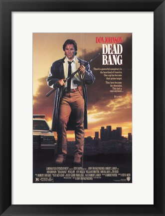 Framed Dead Bang Print