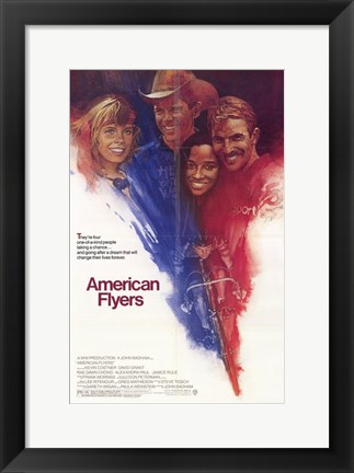 Framed American Flyers Print