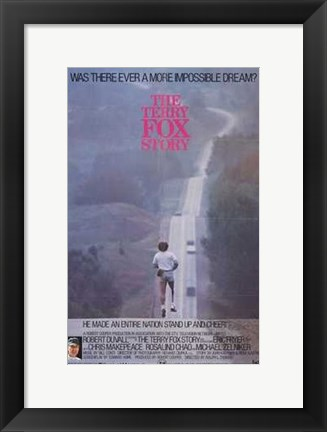 Framed Terry Fox Story Print