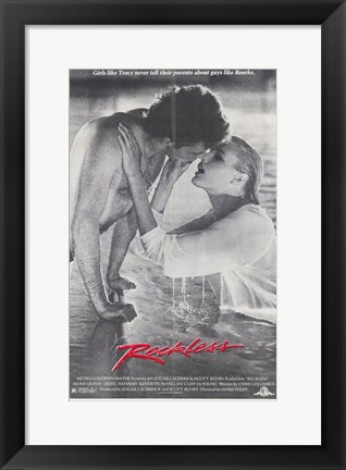 Framed Reckless - couple Print