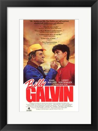 Framed Billy Galvin Print