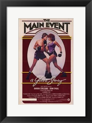 Framed Main Event Print