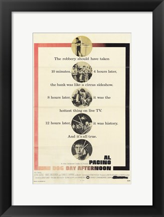 Framed Dog Day Afternoon - Scenes Print