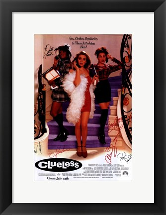 Framed Clueless Print
