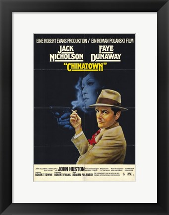 Framed Chinatown Smoking Print
