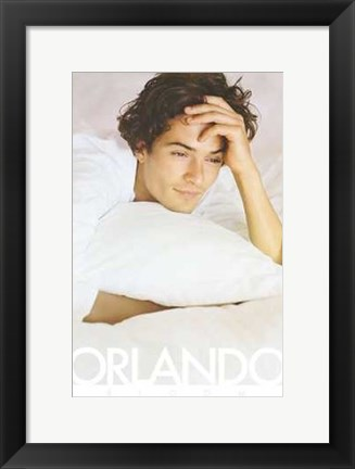Framed Orlando Bloom Print