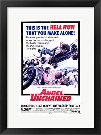 Framed Angel Unchained Print