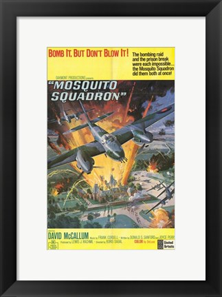 Framed Mosquito Squadron Print