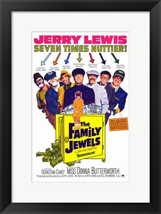 Framed Family Jewels Print
