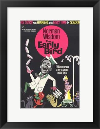 Framed Early Bird Print