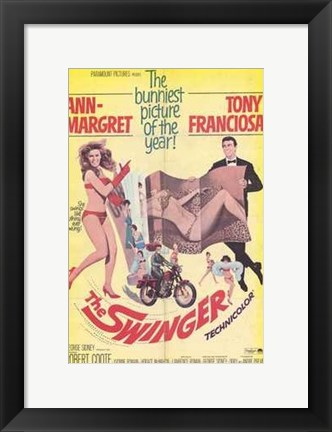 Framed Swinger Print