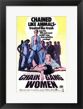 Framed Chain Gang Women Print