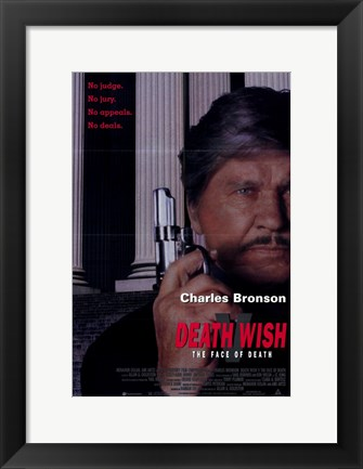 Framed Death Wish 5: the Face of Death Print