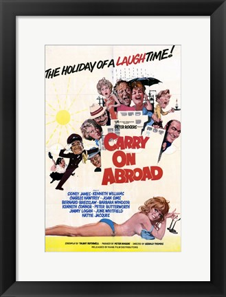 Framed Carry on Abroad Print