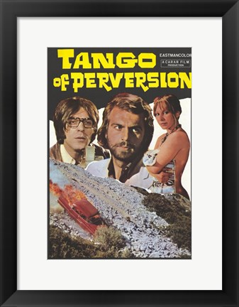 Framed Tango of Perversion Print