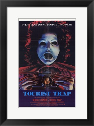 Framed Tourist Trap Print