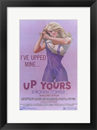 Framed Up Yours Print