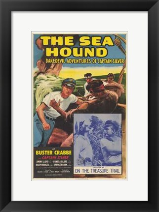 Framed Sea Hound Print