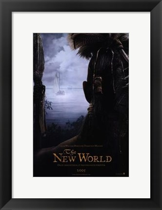 Framed New World Movie Print
