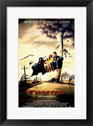 Framed Twister Print
