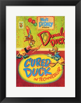 Framed Cured Duck Print