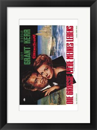 Framed Affair to Remember - vertical movie poster Print
