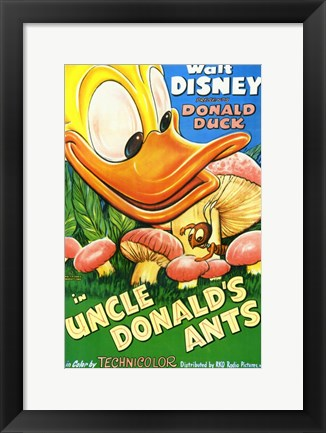 Framed Uncle Donald's Ants Print
