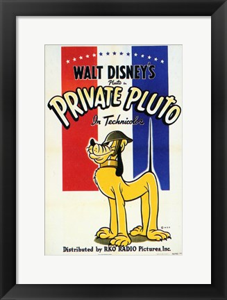 Framed Private Pluto Print