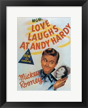 Framed Love Laughs At Andy Hardy Print