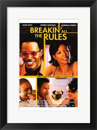 Framed Breakin' All the Rules Print