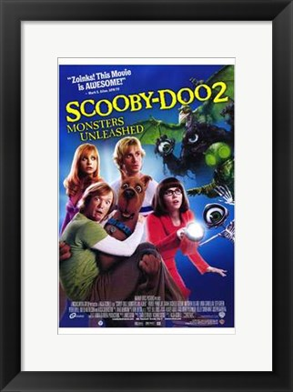 Framed Scooby-Doo 2: Monsters Unleashed Print