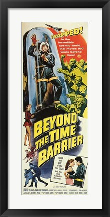 Framed Beyond the Time Barrier Print