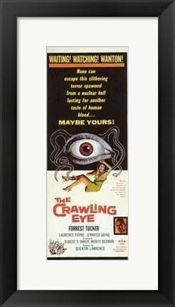 Framed Crawling Eye Print