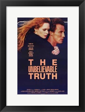 Framed Unbelievable Truth Print