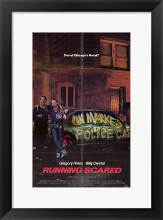 Framed Running Scared Print