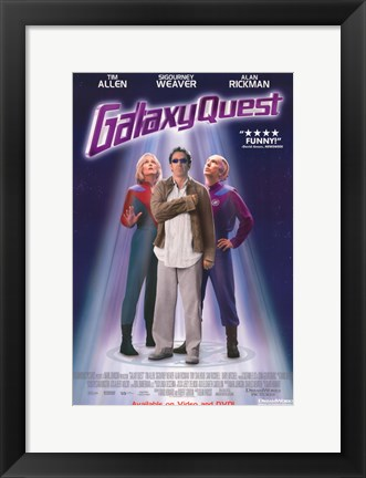 Framed Galaxy Quest Print