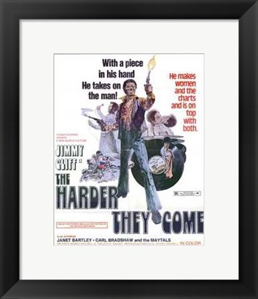 Framed Harder They Come Print