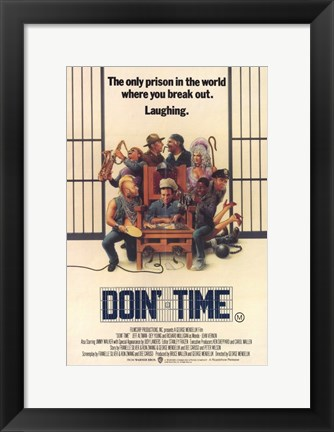 Framed Doin' Time Print