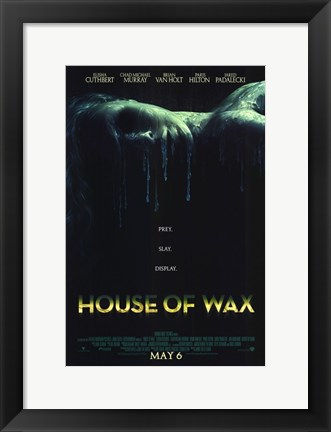 Framed House of Wax 2005 Print