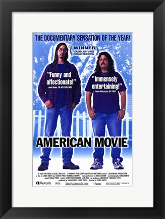 Framed American Movie: the Making of Northweste Print