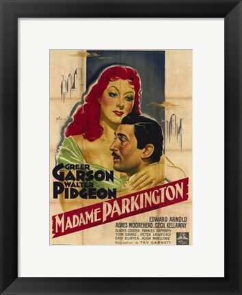 Framed Mrs Parkington Print