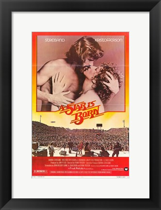 Framed Star is Born Streisand Print