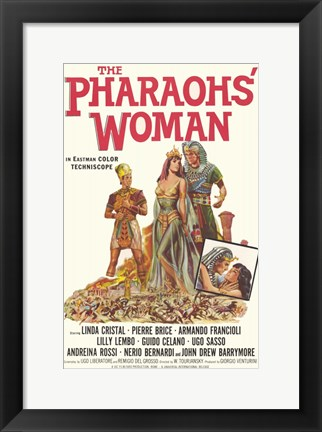 Framed Pharaoh's Woman Print