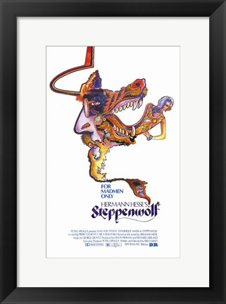 Framed Steppenwolf Print