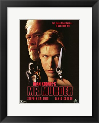 Framed Mr Murder Print